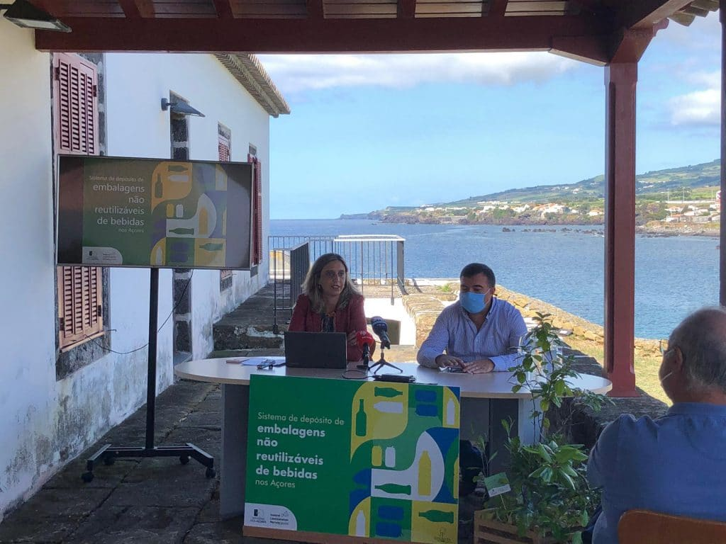 Azores launches a non-reusable packaging deposit system in all municipalities
